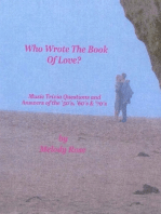Who Wrote The Book Of Love - Music Trivia (Beatles, Elvis & More)