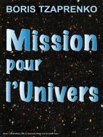 Mission Pour l'Univers