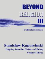 Beyond Religion Volume III