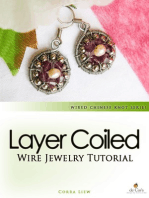 Wired Chinese Knot, Wire Jewelry Tutorial