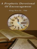 A Prophetic Devotional of Encouragement
