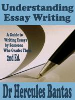 Understanding Essay Writing