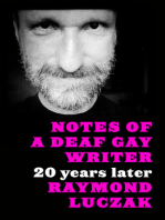 Notes of a Deaf Gay Writer