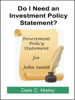 Do I Need an Investment Policy Statement?