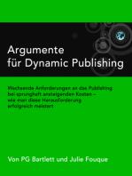 Argumente für Dynamic Publishing