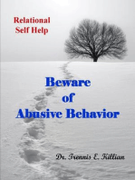 Beware of Abusive Behavior