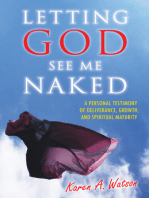 Letting God See Me Naked