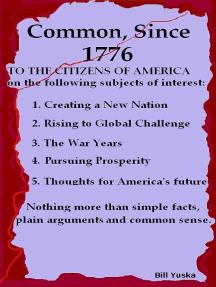 Common, Since 1776