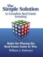 The Simple Solution to Canadian Real Estate Investing