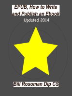 EPUB, How To Write and Publish an Ebook