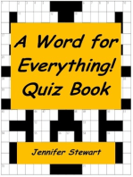 A Word for Everything! Quiz Book