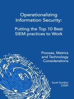 Operationalizing Information Security