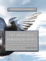 The Apostolic Paradigm Shift