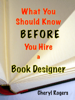 What You Should Know Before You Hire a Book Designer