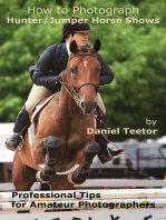 How to Photograph Hunter/Jumper Horse Shows