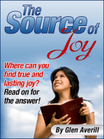 The Source of Joy