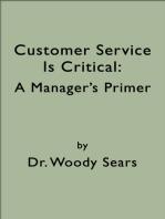 Customer Service is Critical