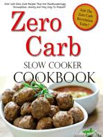 Zero Carb Slow Cooker Cookbook
