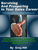 Surviving & Prospering in Your Sales Career