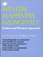 Health, Happiness, & Longevity