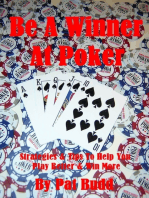 Be A Winner At Poker