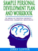Sample Personal Development Plan and Workbook