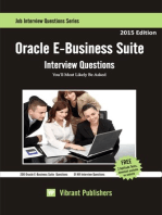 Oracle E-Business Suite Interview Questions You'll Most Likely Be Asked