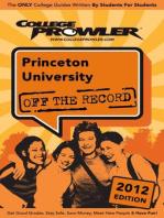 Princeton University 2012