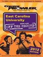 East Carolina University 2012