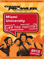 Miami University 2012