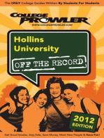 Hollins University 2012
