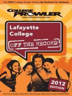 Lafayette College 2012