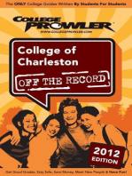 College of Charleston 2012