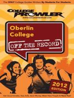 Oberlin College 2012
