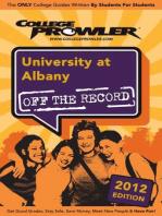 University at Albany 2012