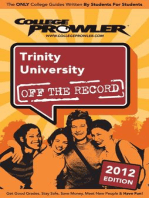 Trinity University 2012