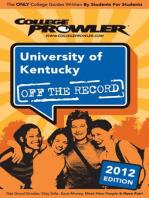 University of Kentucky 2012