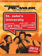St. John's University 2012