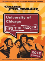 University of Chicago 2012