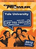 Yale University 2012