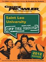 Saint Leo University 2012