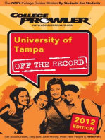 University of Tampa 2012