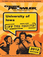 University of Iowa 2012