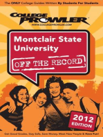 Montclair State University 2012