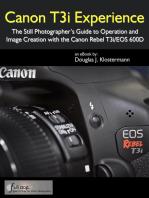 Canon T3i Experience