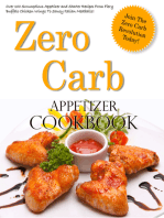 Zero Carb Appetizer Cookbook