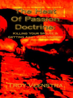 The Heat of Passion Doctrine