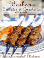 Barbecue Grillades et Brochettes 60 recettes