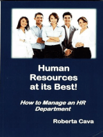 Human Resources At Its Best!
