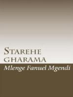 Starehe Gharama
